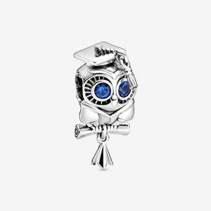 Pandora Silver  Wise Owl Graduation Charm